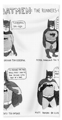 Batmen Runners Bath Towel