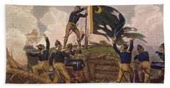 Battle Of Fort Moultrie Hand Towel