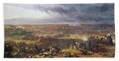 Battle Of Waterloo, 1815, 1843 Bath Towel