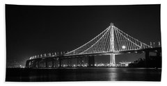 Bay Bridge Moon Bath Towel