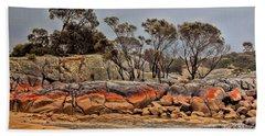 Bay Of Fires 2 Bath Towel by Wallaroo Images