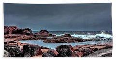 Bay Of Fires 3 Bath Towel by Wallaroo Images