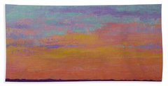 Bay Sunset Hand Towel by Gail Kent