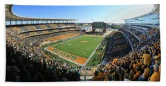 Baylor Gameday No 5 Hand Towel by Stephen Stookey