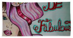 Be Fabulous Hand Towel