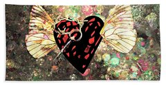 Bath Towel featuring the photograph Be My Valentine by Ally  White