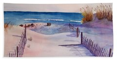 Beach Afternoon Hand Towel