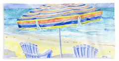 Beach Chairs Hand Towel