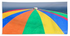 Bath Towel featuring the photograph Beach Day by Adrian LaRoque
