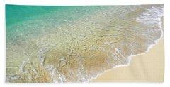 Golden Sand Beach Hand Towel