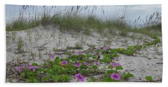 Beach Flowers Bath Towel