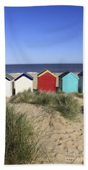 Southwold Beach Huts Uk Hand Towel