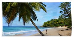 Beach In Dominican Republic Hand Towel
