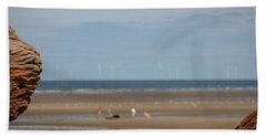 Beach Hand Towel by Spikey Mouse Photography