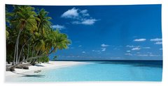 Beach Maldives Bath Towel