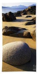 Beach Of Gold Bath Towel