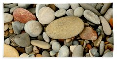 Beach Rocks Bath Towel by Art Block Collections