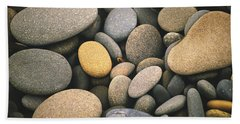 Beach Rocks  Hand Towel