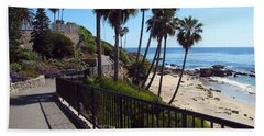 Beach Walkway Hand Towel