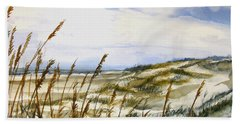 Beach Watercolor 3-19-12 Julianne Felton Hand Towel