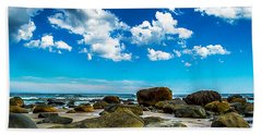 Beachfront Boulders Bath Towel