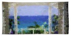 Beachfront Oasis Bath Towel by Anthony Fishburne