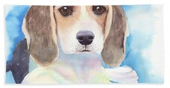 Beagle Baby Hand Towel