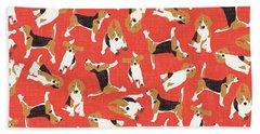 Beagle Hand Towels