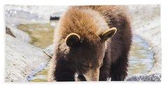 Bear Cub Bath Towel