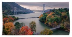 Bear Mountain Bridge Bath Towel