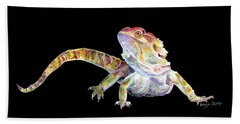 Bearded Dragon Hand Towel