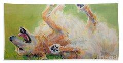 Bears Backscratch Hand Towel by Kimberly Santini