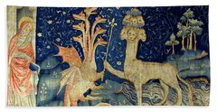Beasts Of The Apocalypse Tapestry Hand Towel