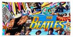 Beatles For Summer Bath Towel