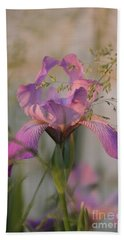 Beautiful And Mystical Iris  Hand Towel
