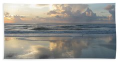 Beautiful Beach Sunrise Bath Towel