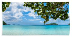 Beautiful Caribbean Beach Bath Towel
