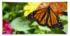 Beautiful Monarch Butterfly Bath Towel