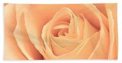 Beautiful Pink Rose Square Format Hand Towel