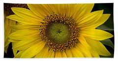 Beautiful Sunflower Hand Towel