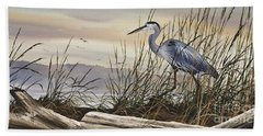 Beauty Along The Shore Hand Towel by James Williamson