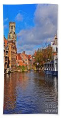 Beauty Of Belgium Bath Towel
