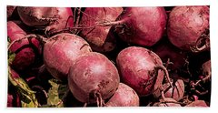 Beets - Earthy Wonders Bath Towel
