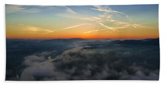Before Sunrise On The Lilienstein Bath Towel
