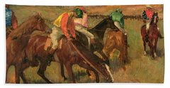Before The Races Hand Towel