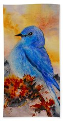 Before The Song Hand Towel by Beverley Harper Tinsley