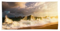 Bath Towel featuring the photograph Before The Storm by Eti Reid