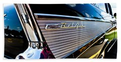 Bath Towel featuring the photograph Bel Air Reflections by Joann Copeland-Paul