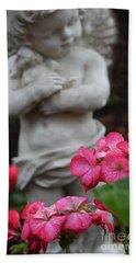 Believe What Your Heart Feels - Angel Art Hand Towel