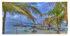 Belize Hdr Bath Towel
